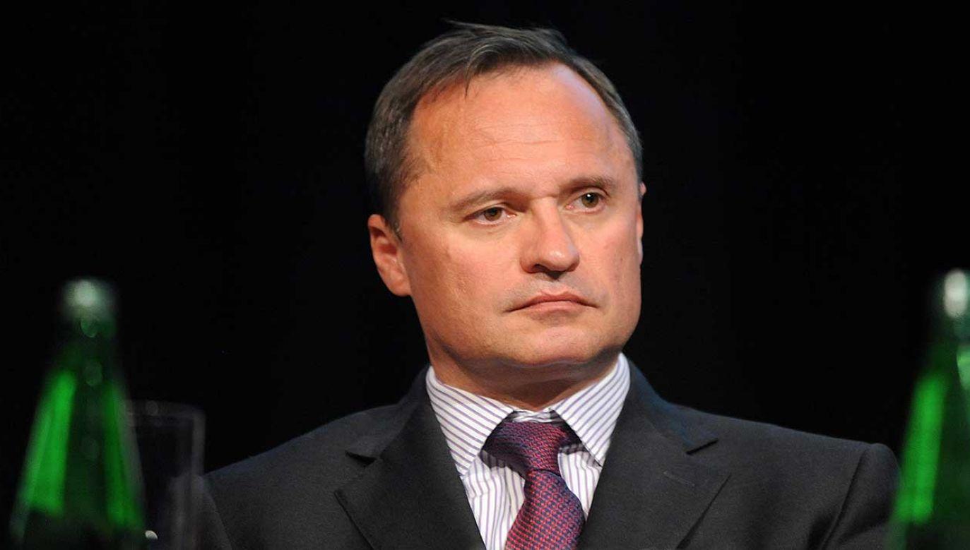 Miliarder ma zeznawać ws. nagranej przez niego propozycji korupcyjnej względem szefa byłego już KNF  (fot. PAP/Szymon Łaszewski)