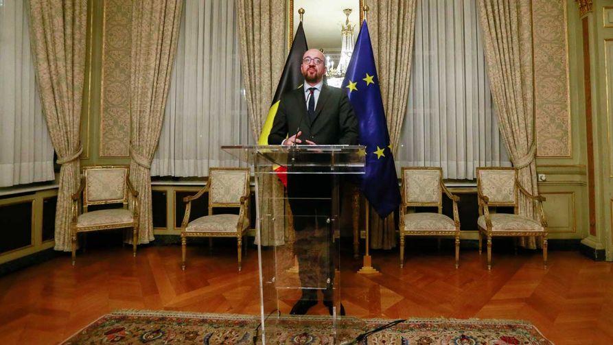 Premier Belgii Charles Michel dostał votum nieufności po podpisaniu paktu migracyjnego (fot. arch. PAP/STEPHANIE LECOCQ)