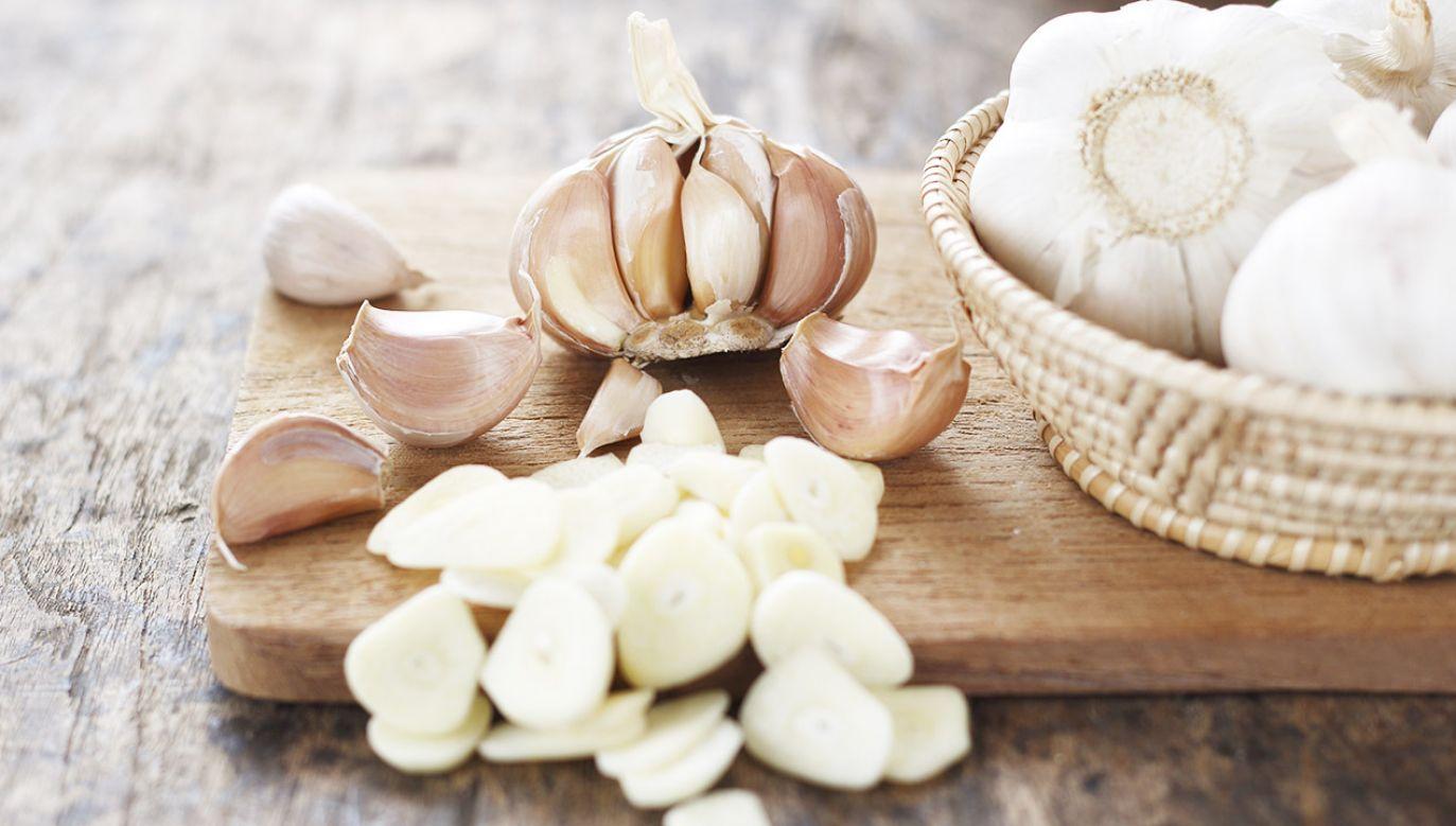 Substancja zawarta w czosnku pomaga utrzymać zdrowy skład mikrobiomu jelitowego (fot. Shutterstock/meaofoto)