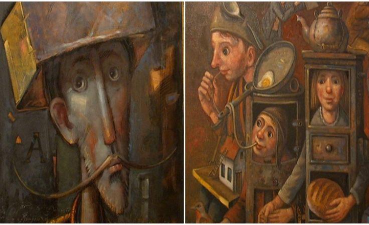 """Artysta """"z innej bajki"""". Obrazy D. Milińskiego w Galerii ProArte"""