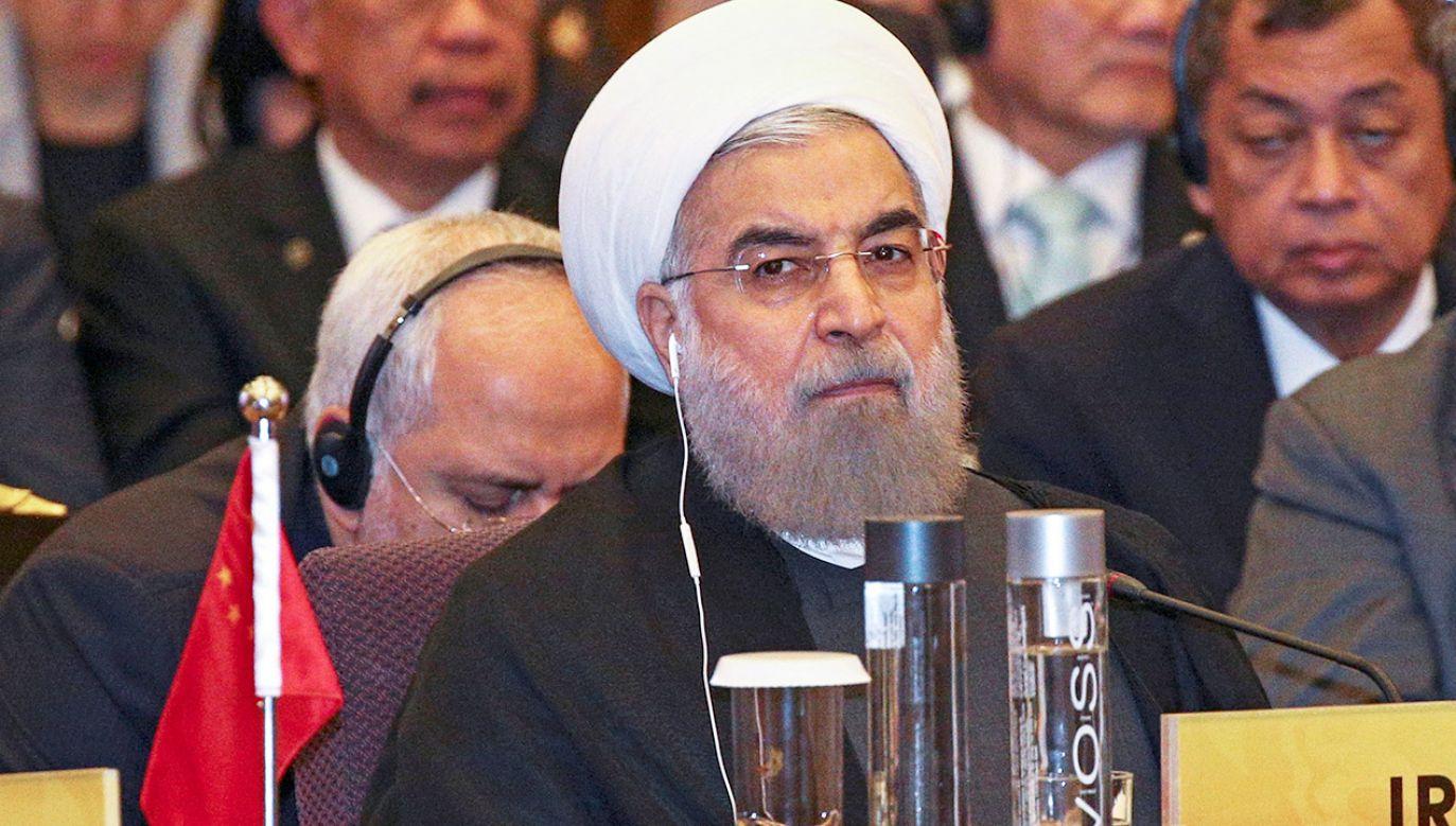 Iran uważa, że konferencja dot. sytuacji na Bliskim Wschodzie jest aktem wrogości (fot. REUTERS/Athit Perawongmetha)