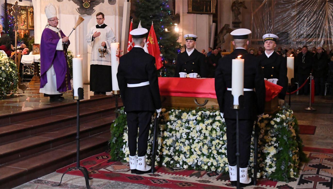 Mszy przewodniczył metropolita gdański abp Sławoj Leszek Głódź (fot. PAP/Adam Warżawa)