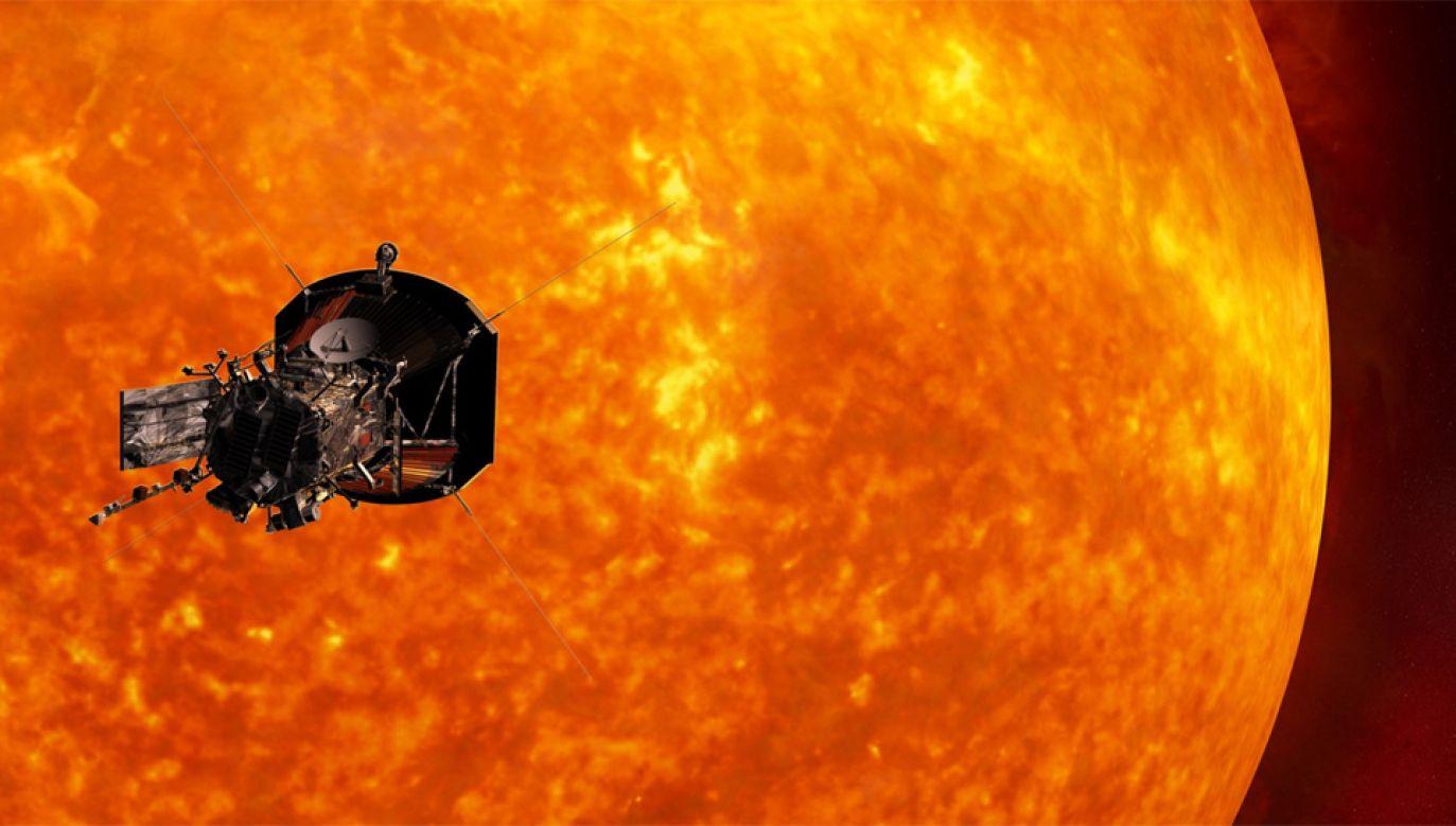 Na zewnątrz temperatura będzie przekraczała 1300 st. Celsjusza, ale sonda, która będzie pracowała w cieniu osłony, doświadczy zaledwie 30 st. (fot. NASA)