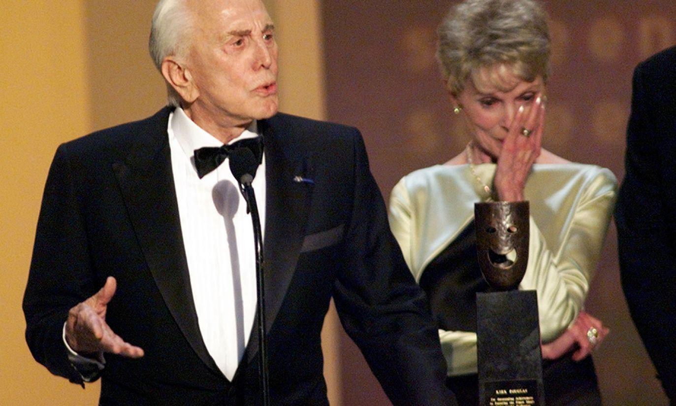 W 1999 został uhonorowany przez Amerykański Instytut Filmowy (fot. Reuters Pictures/Reuters Photographer)