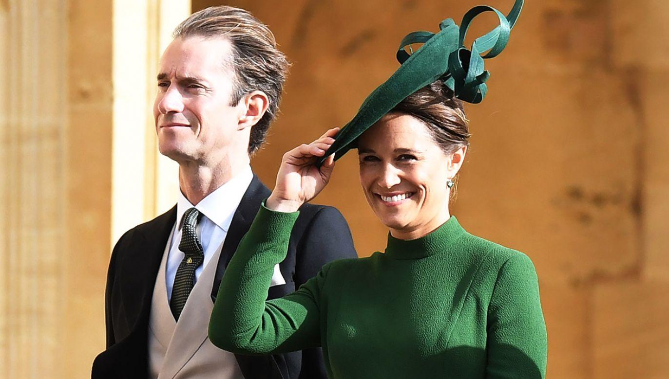 Pippa Middleton i James Matthews pobrali się w maju 2017 r. (fot. PAP/EPA/FACUNDO ARRIZABALAGA)