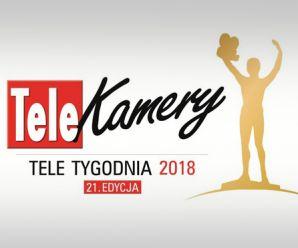 Telekamery 2018 rozdane! Szczęśliwa siódemka dla TVP.