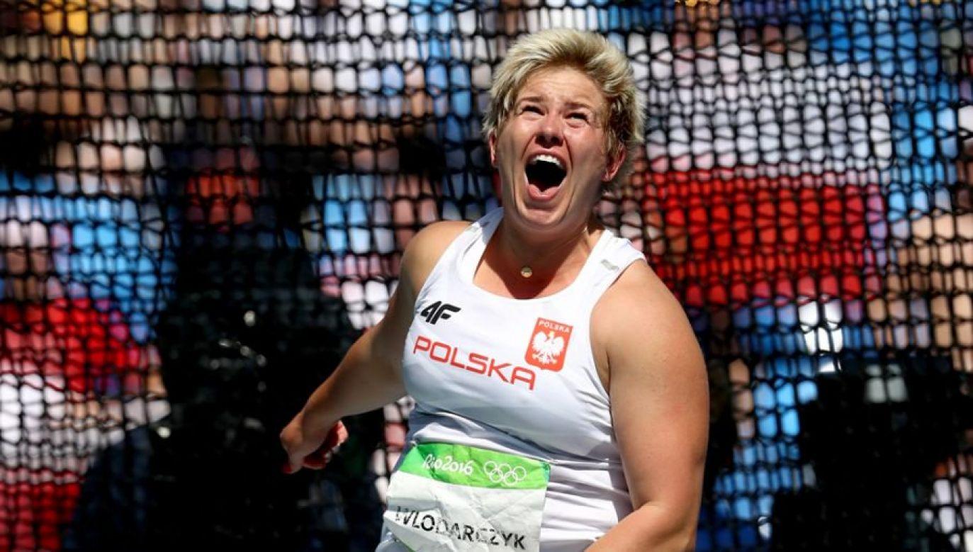 Złoty medal zostanie wręczony Włodarczyk po uzgodnieniu terminu (fot. Patrick Smith/Getty Images)