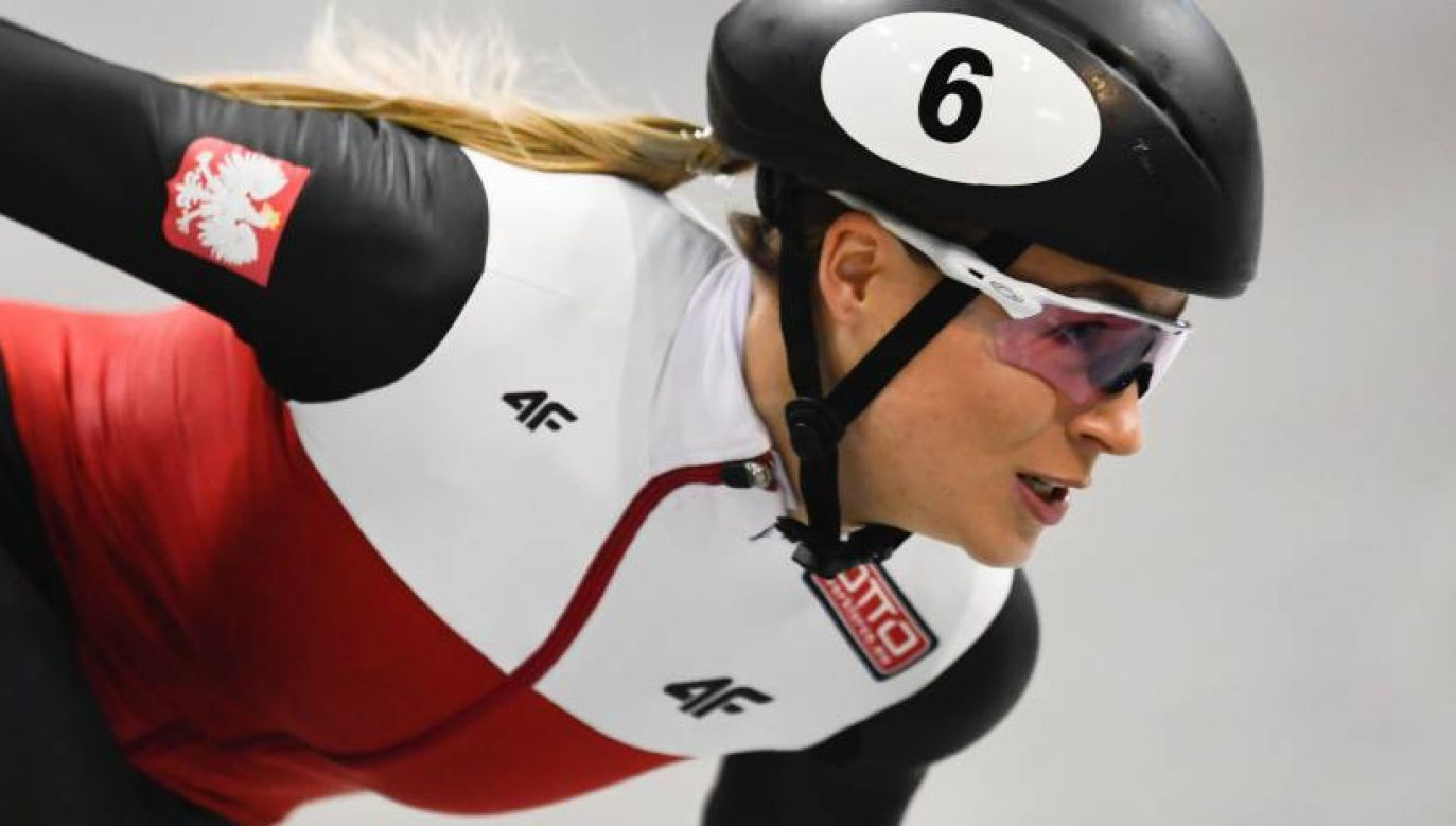 Natalia Maliszewska zdobyła Puchar Świata w short tracku (PAP PAP/EPA/FILIP SINGER )