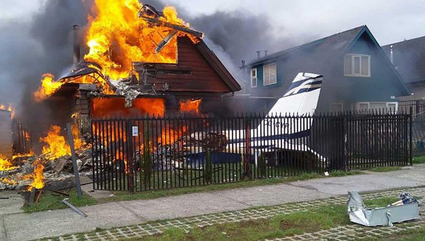 W katastrofie zginęło sześć osób (fot. TT/Noticias Policiales)