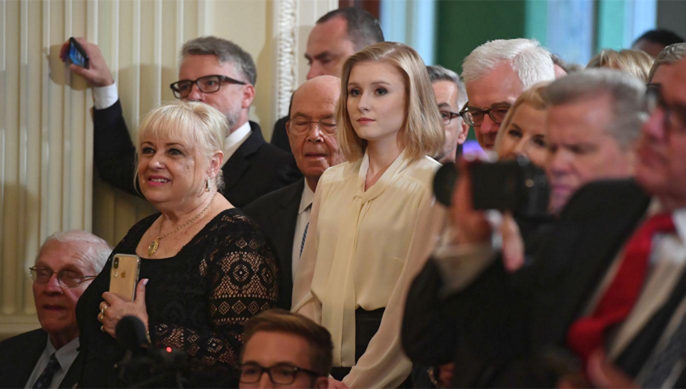 Kinga Duda wzięła udział w przyjęciu w Białym Domu (fot. PAP/Radek Pietruszka)