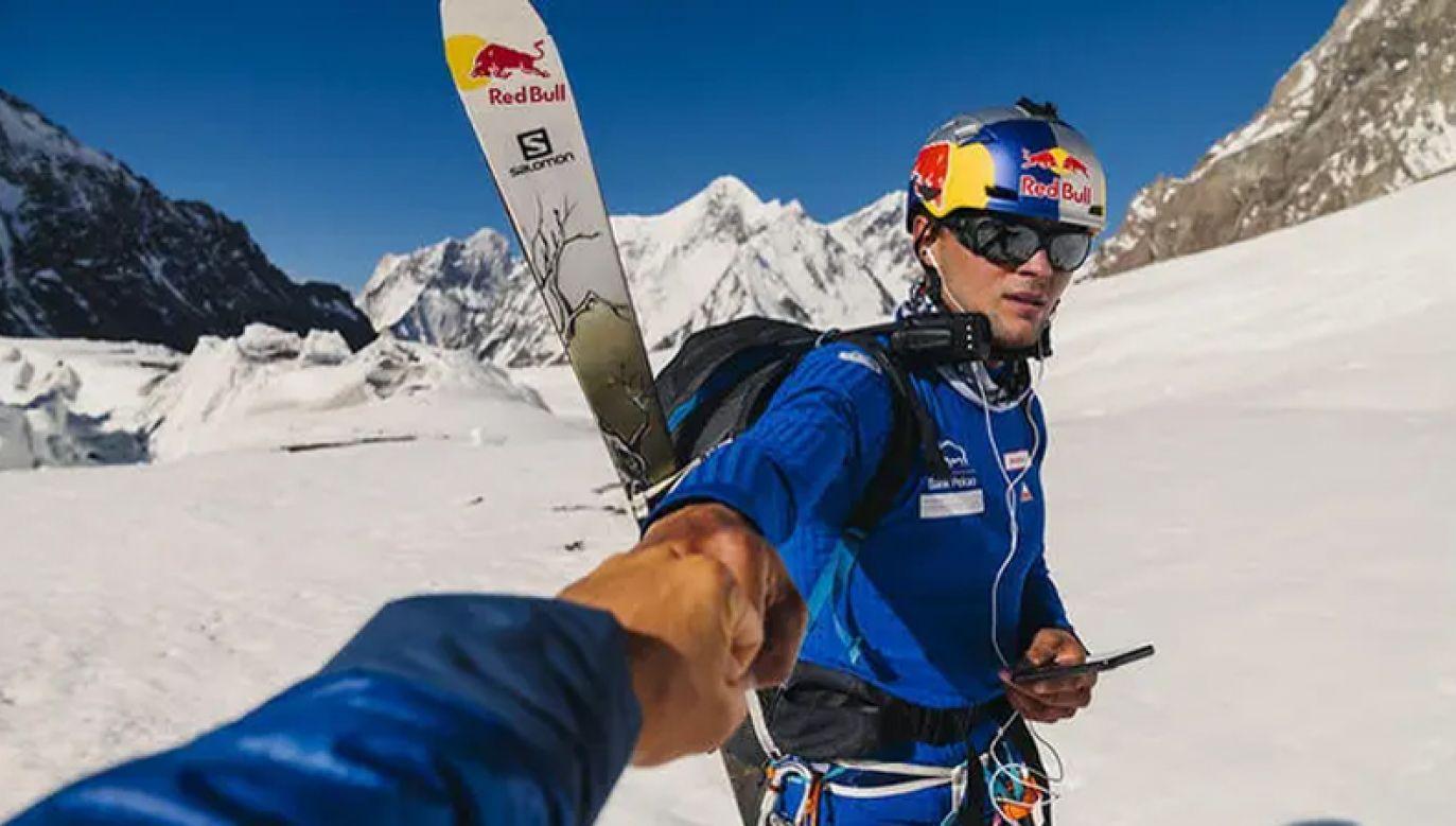 Andrzej Bargiel rusza na K2 (fot. Instagram/Marek Ogień)