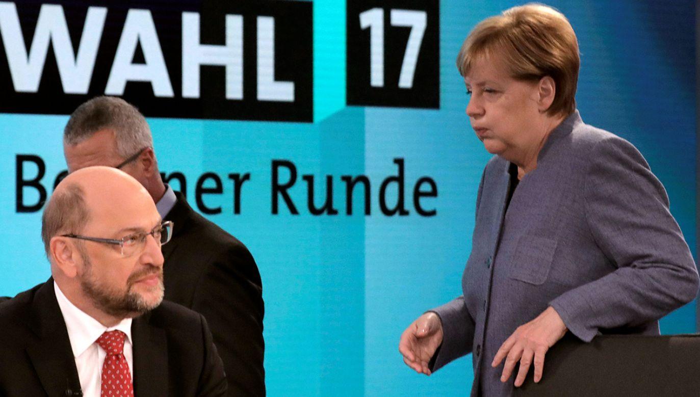 Po fiasku rozmów sondażowych o koalicji między blokiem partii chadeckich CDU/CSU a FDP i Zielonymi Niemcom grozi kilkumiesięczny brak stabilizacji (fot. REUTERS/Gero Breloer/POOL)