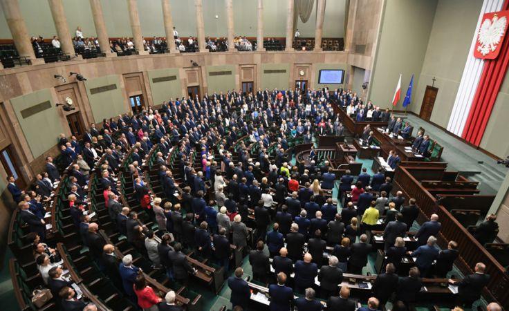 Według PO zmiany w Kk są konieczne m.in. ze względu na sytuacje w policji po 2015 r.. fot. PAP/Bartłomiej Zborowski)