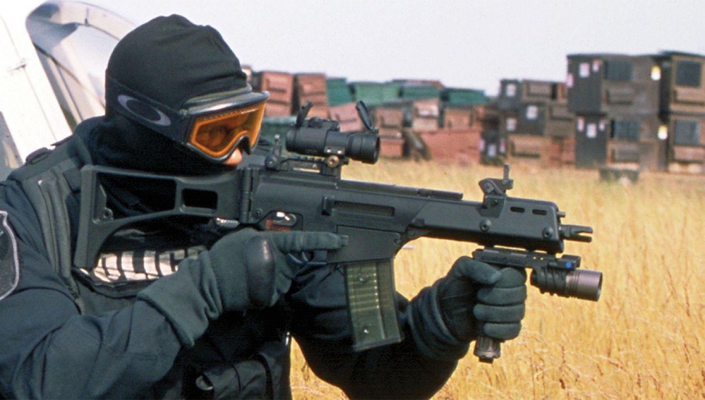 Karabiny G36 trafiły m.in. do skorumpowanej meksykańskiej policji (fot. mat.pras.)