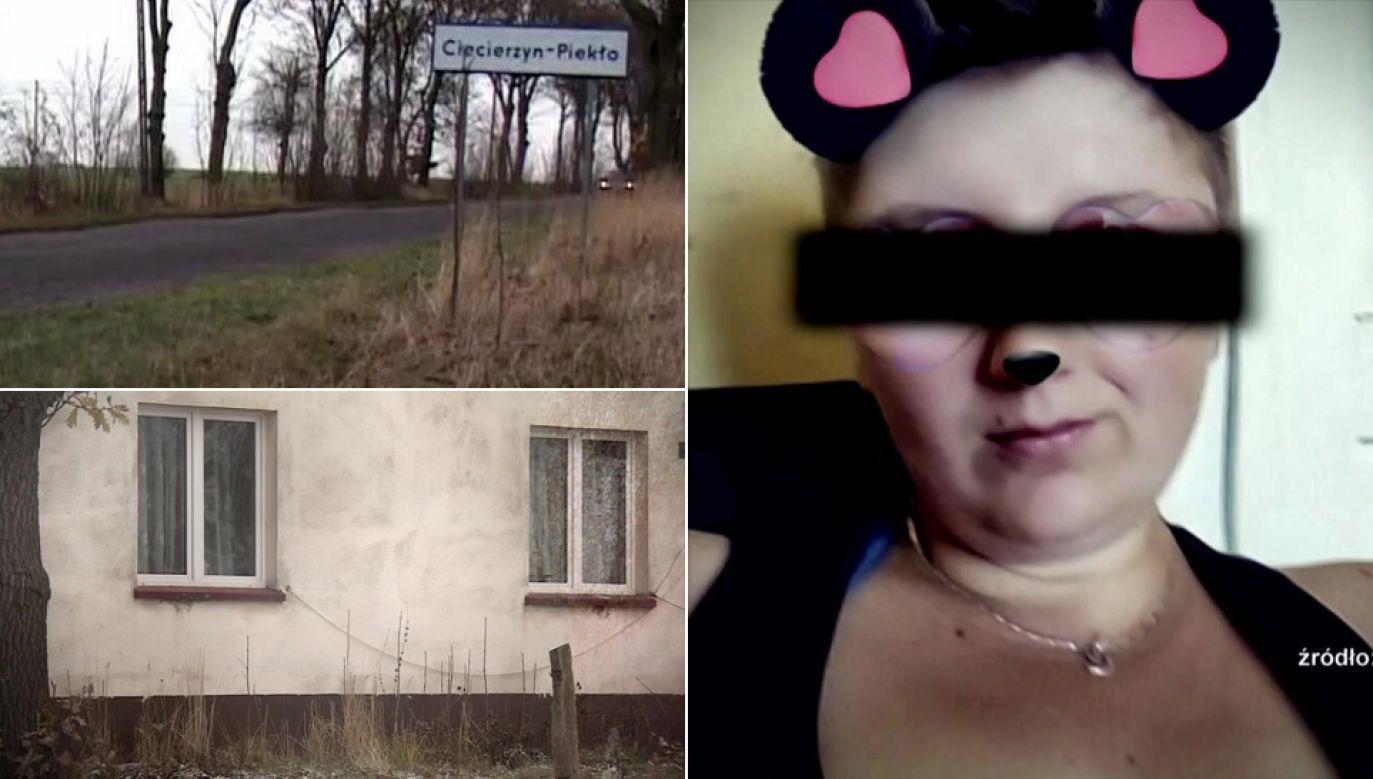 Matce dzieci Aleksandrze J. grozi dożywocie (fot. TVP1)