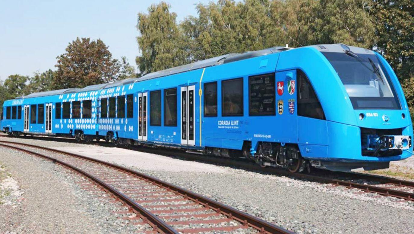 Pociąg Coradia iLint napędzany jest wodorem, który można przełączyć ze źródła oleju napędowego (fot. tt/Newark element14)