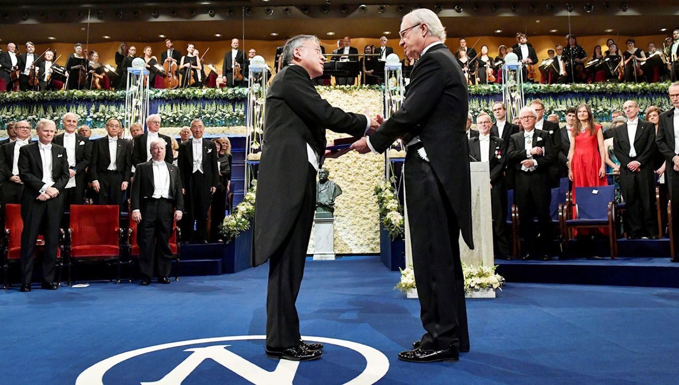 W 2018 roku nie przyznano literackiego lauru w związku ze skandalem w Akademii Szwedzkiej (fot. TT News Agency/Jonas Ekstromer via REUTERS)