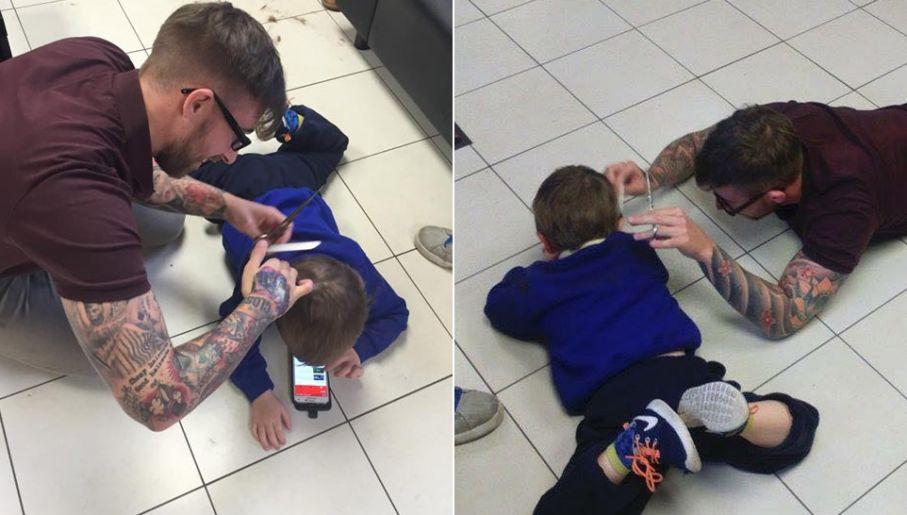 Fryzjer Obcinający Włosy Chłopcu Z Autyzmem Robi Furorę W Sieci