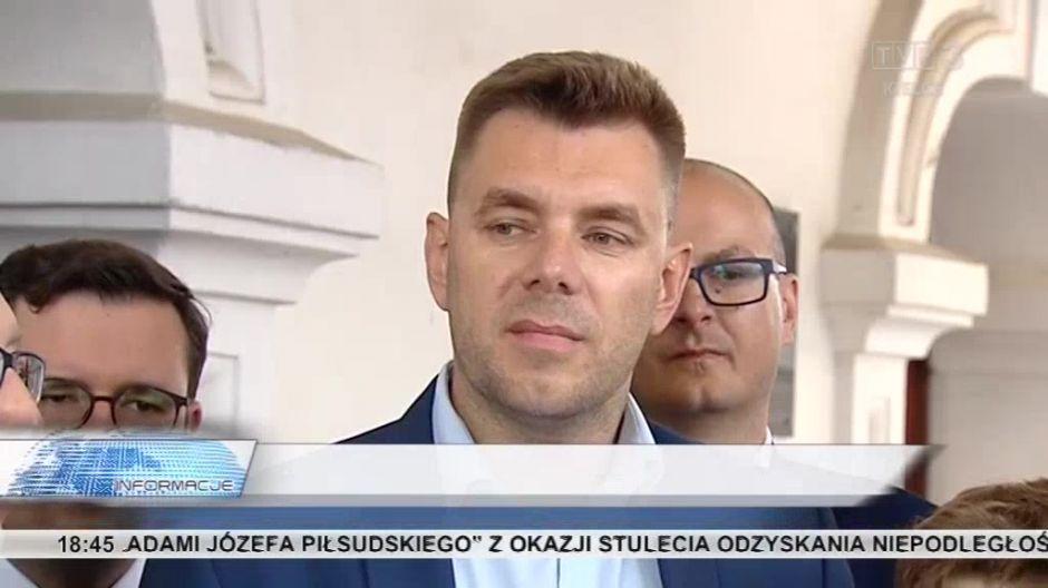 Marcin Marzec, kandydat partii opozycyjnych na burmistrza Sandomierza