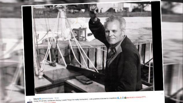 Leonid Teliga zmarł w 1970 roku (fot. twitter.com/MiastoGdynia)