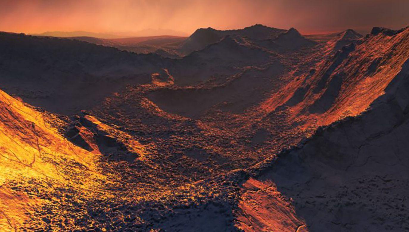 Istnienie planety odkryto dzięki tzw. metodzie prędkości radialnych (fot. ESO – M. Kornmesser)