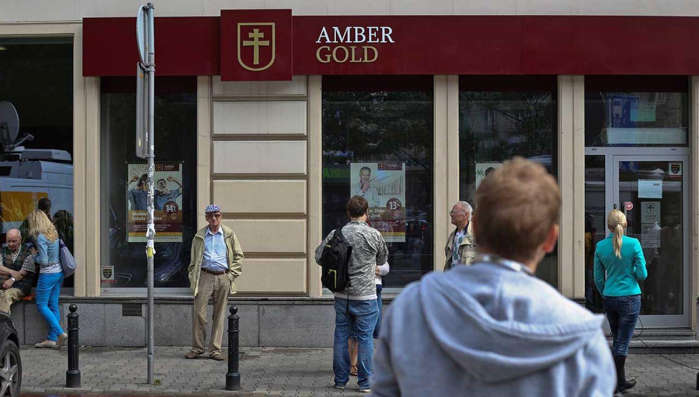 Syndyk masy upadłości Amber Gold sp. z o.o. Józef Dębiński (fot. arch. PAP/Rafał Guz)