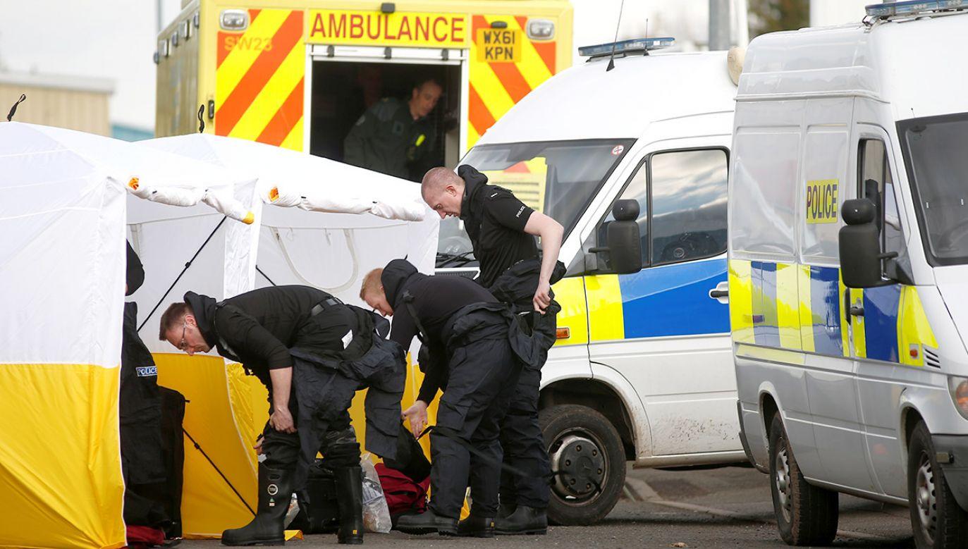 Scotland Yard twierdzi, że ustalił tożsamość podejrzanych o próbę zabicia Siergieja i Julii Skripalów (fot. REUTERS/Henry Nicholls)