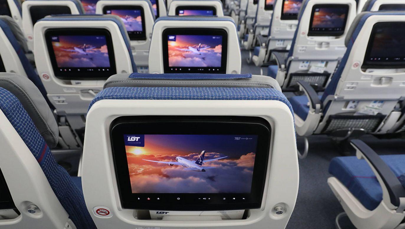 Wynajęte samoloty mają pomóc w zapewnieniu ciągłości połączeń (fot. arch.PAP/Paweł Supernak)