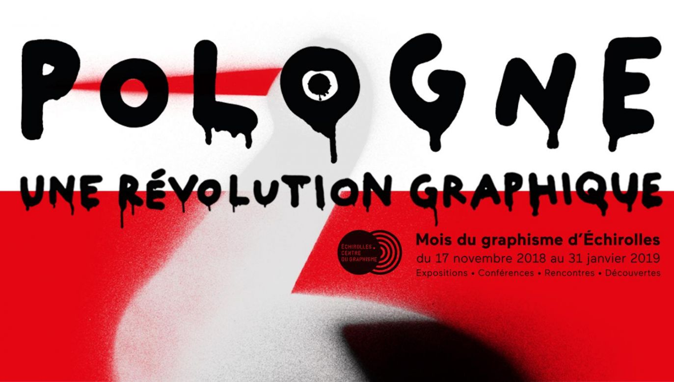 Exhibition of Polish graphic design in Echirolles, France. Photo:Centre Du Graphisme, Echirolles/promotional materials