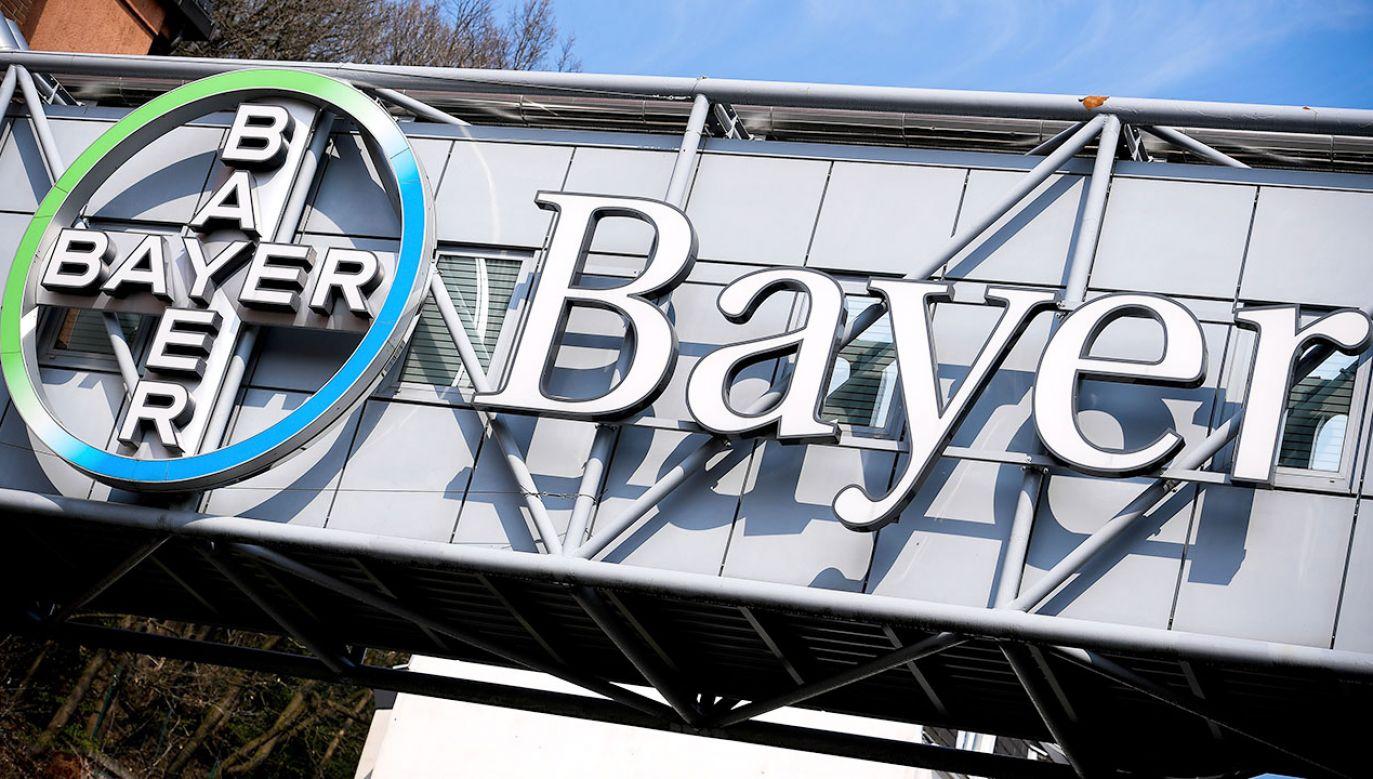 Bayer jest rozczarowany wyrokiem amerykańskiego sądu (fot. PAP/EPA/SASCHA STEINBACH)