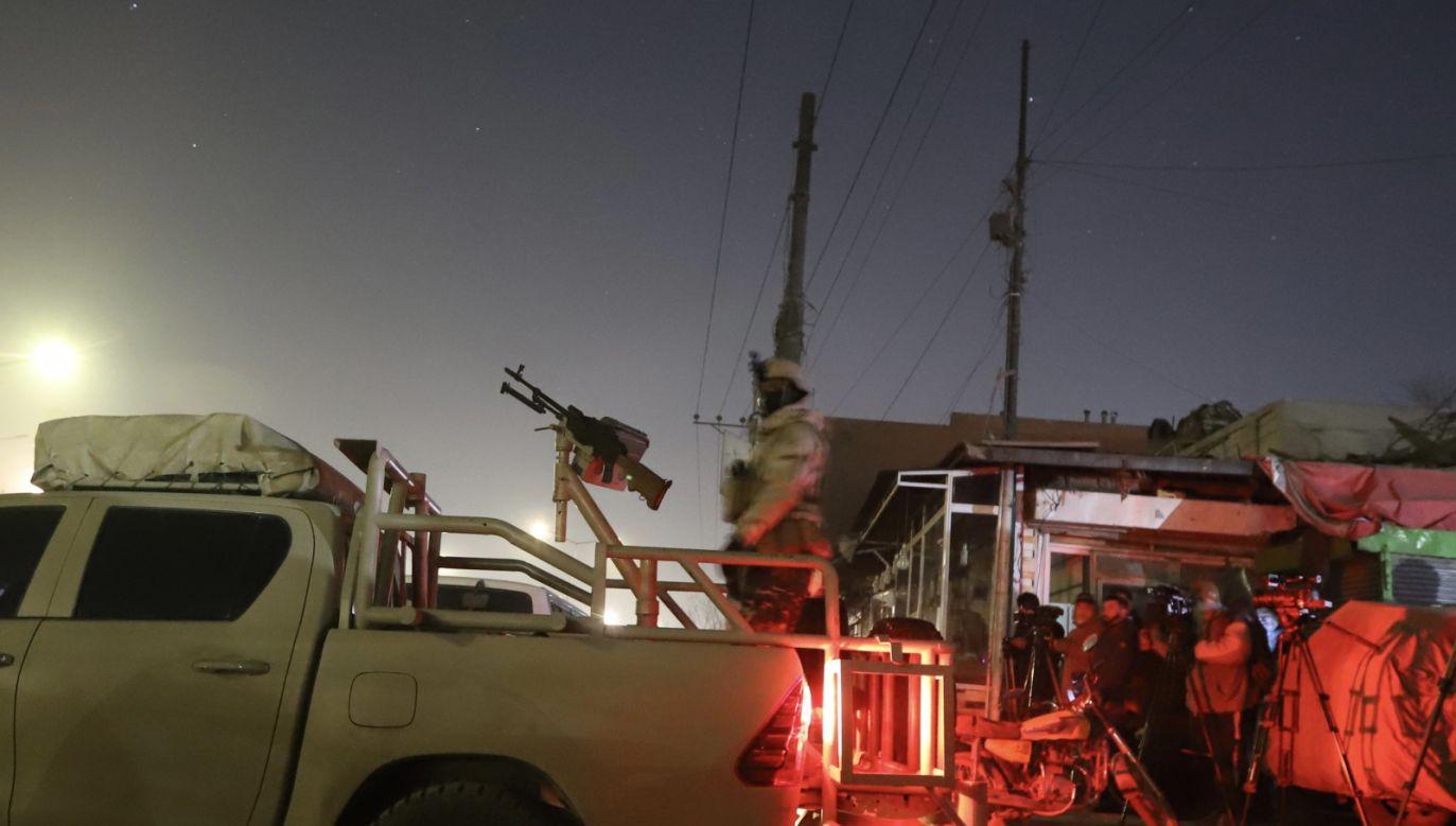 Napastnicy mieli wziąć zakładników spośród personelu i gości (fot. EPA/JAWAD JALALI)