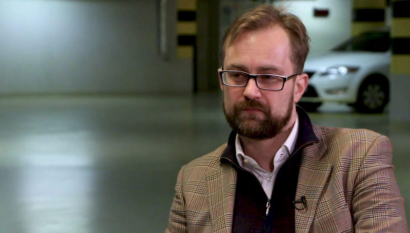 Platformy za pięć lat nie będzie. Tak myślę – mówi Norbert Wojnarowski (fot. portal tvp.info)