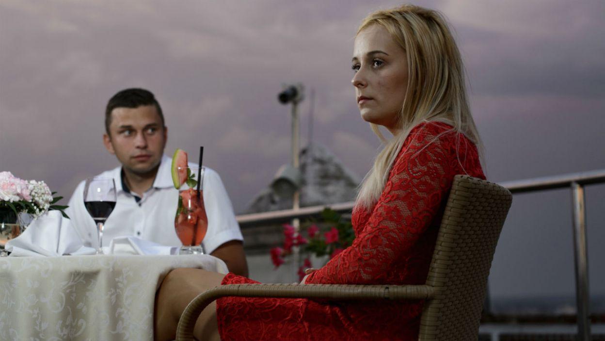 Trudny przebieg miała też kolacja Krzysztofa i Eweliny. – Podobasz mi się, ale nie czuję nic więcej – zdradził rolnik (fot. TVP)
