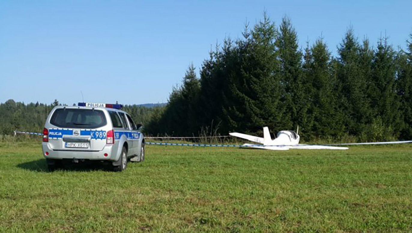 W wypadku zginął 44-letni pilot (fot. TT/Kryminalna Polska)