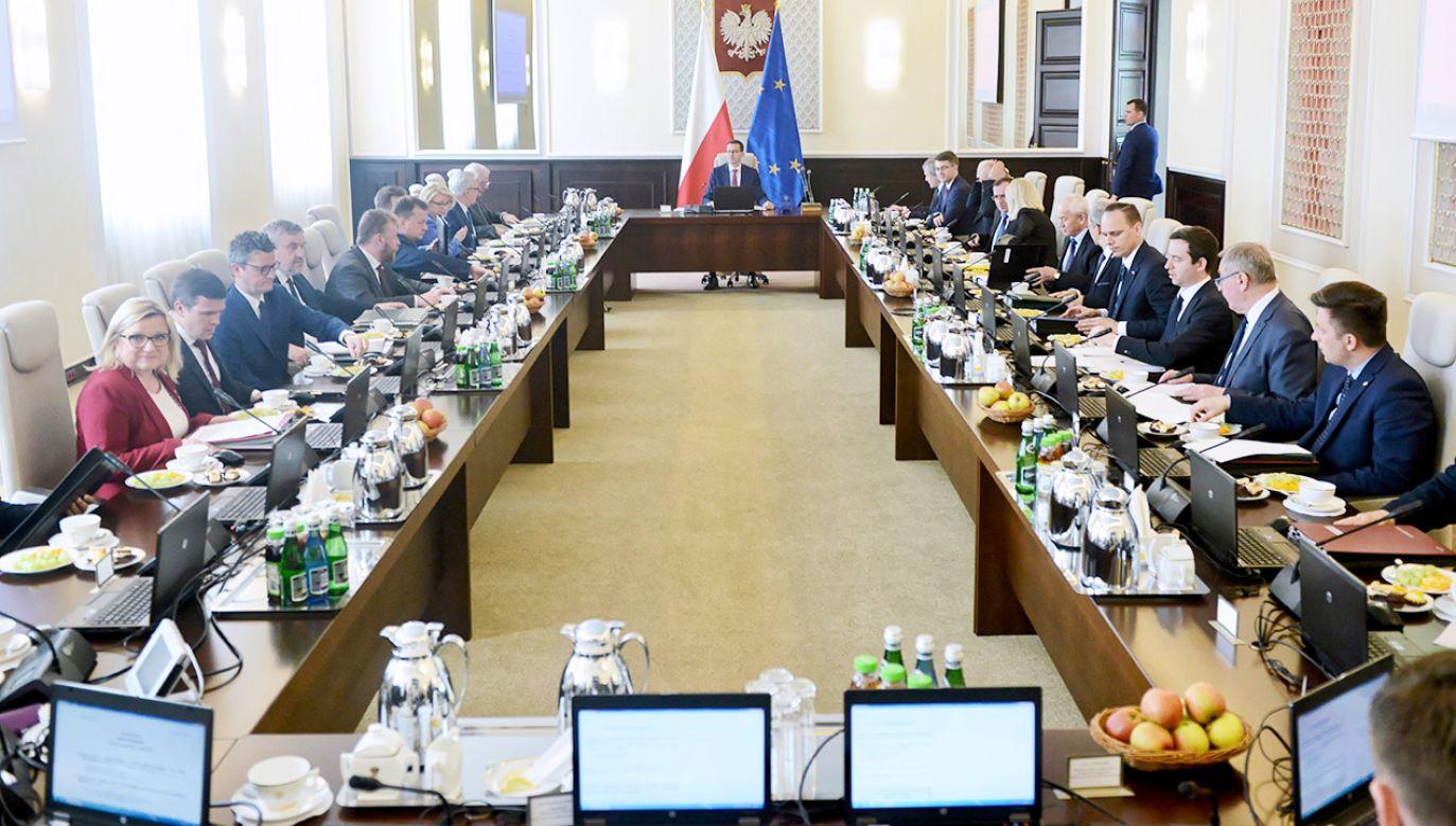 Sasin przyznał, że do zmian w rządzie powinno dojść wkrótce (fot. PAP/Jakub Kamiński)