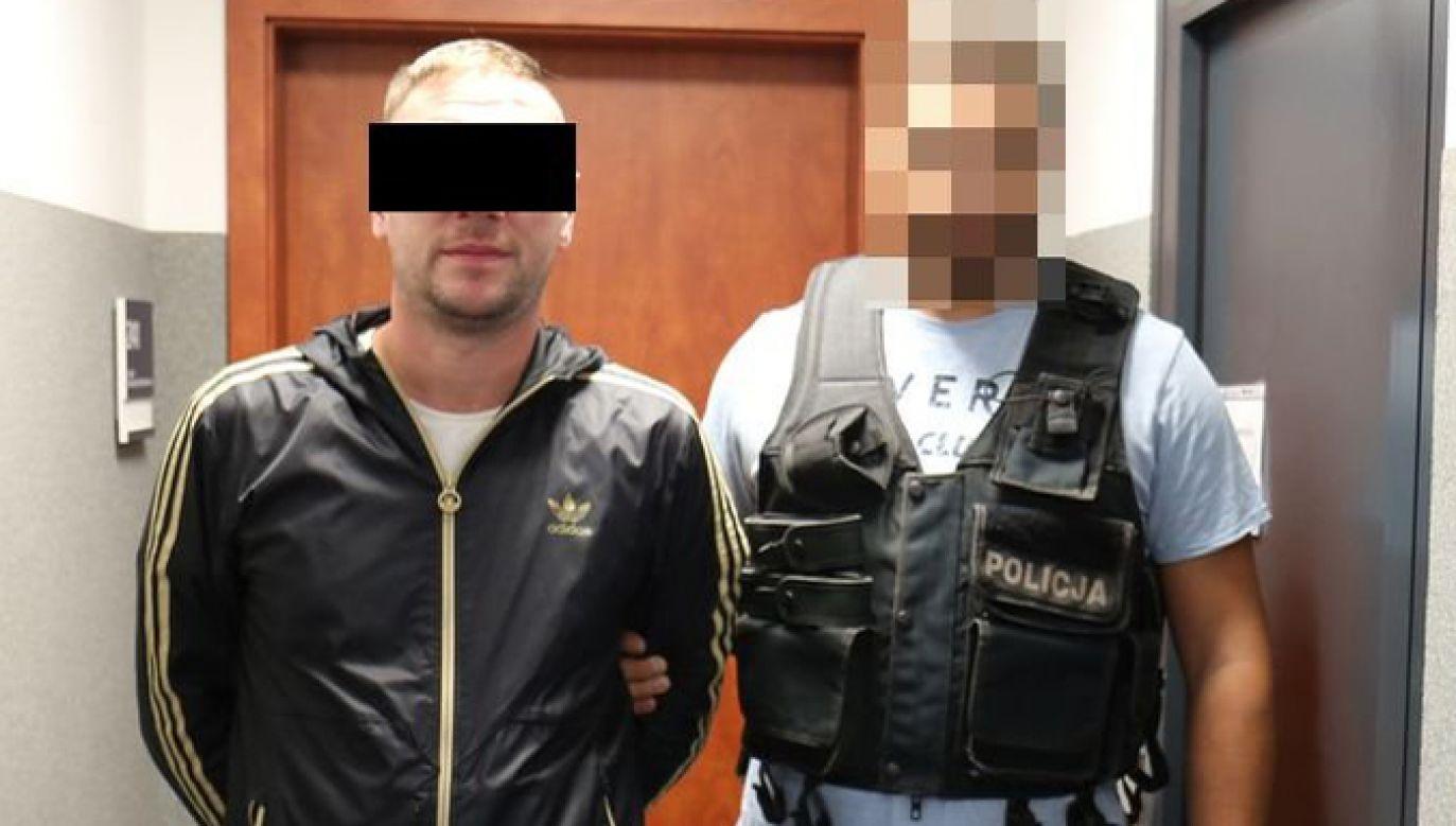 Mężczyzna usłyszał zarzuty kradzieży z włamaniem i będzie odpowiadał w warunkach recydywy (lubelska.policja.gov.pl)