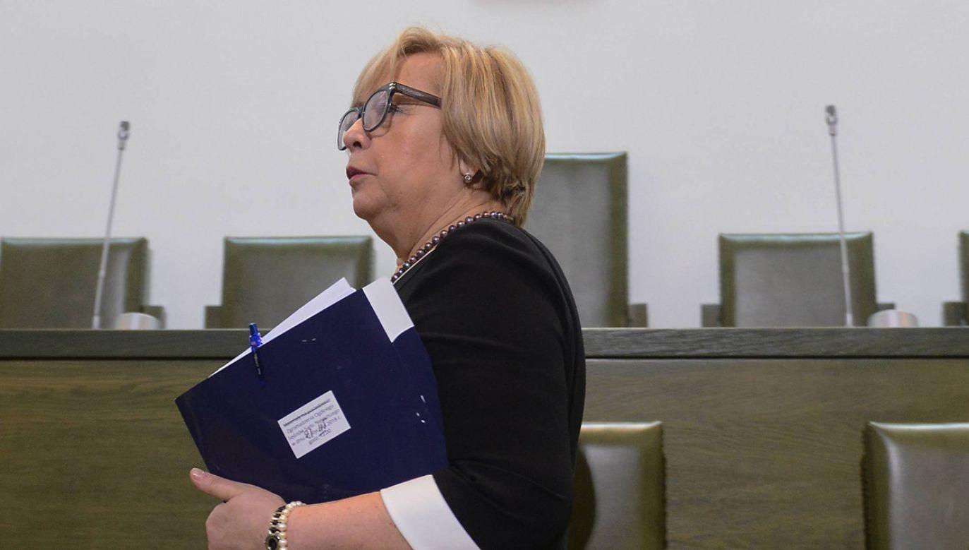Sędzia Gersdorf wydała oświadczenie po spotkaniu z premierem (fot. arch. PAP/Jakub Kamiński)