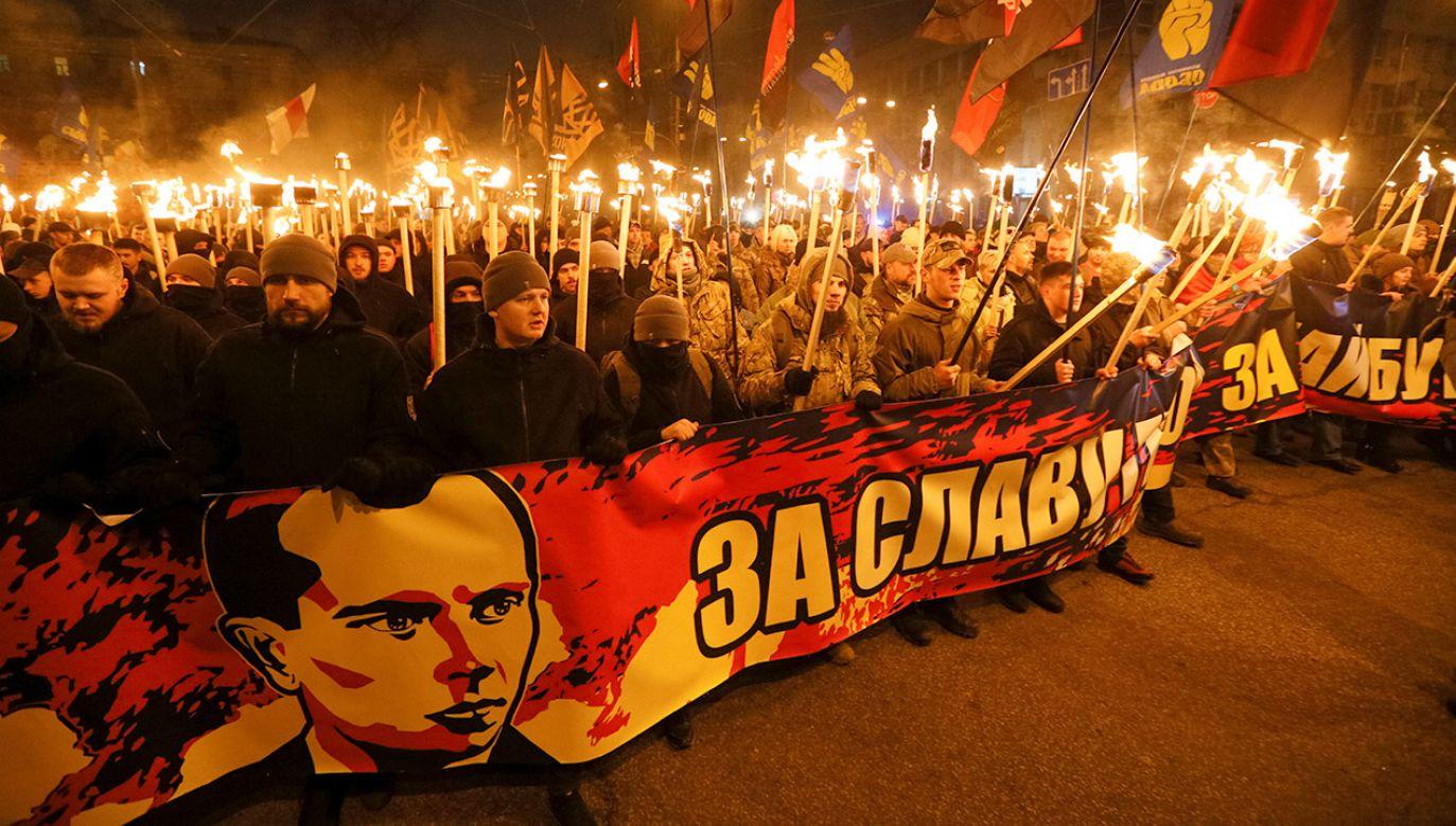 Bandera był przywódcą jednej z frakcji Organizacji Ukraińskich Nacjonalistów (fot. REUTERS/Valentyn Ogirenko)