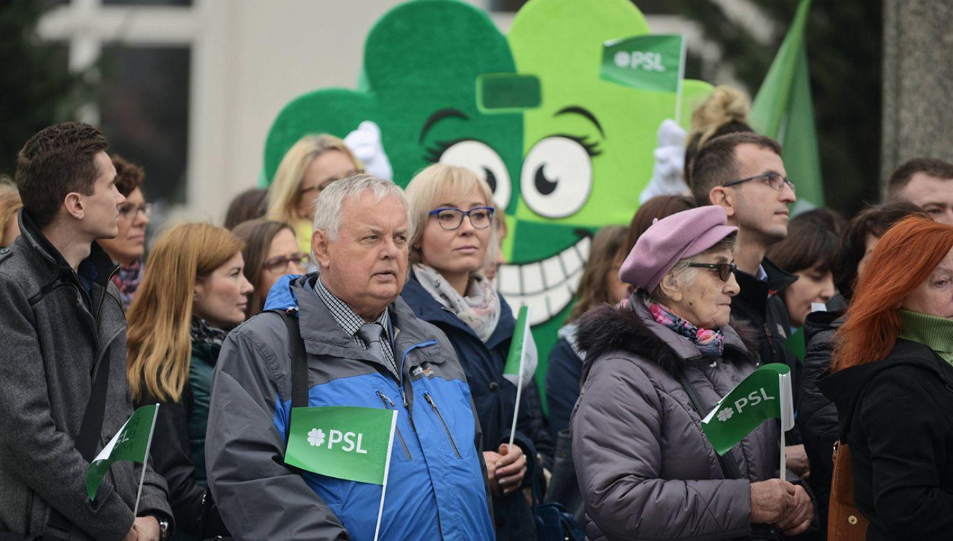 Ludowcy deklarują, że nie wejdą w koalicję z Prawem i Sprawiedliwością w sejmikach (fot. arch. PAP/Jakub Kamiński)