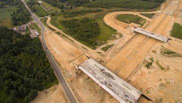 Generalna Dyrekcja Dróg i Autostrad nakazała wykonawcy rozbiórkę dwóch wiaduktów nr 361 i 362 (fot. ARC GDDKiA)