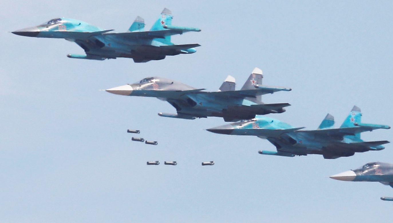 Bombowce SU-34 zderzyły się na rosyjskim Dalekim Wschodzie (fot. REUTERS/Maxim Shemetov)