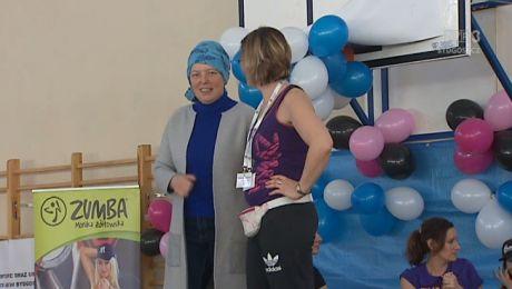 Cały UKW pomaga pracownicy w walce z rakiem