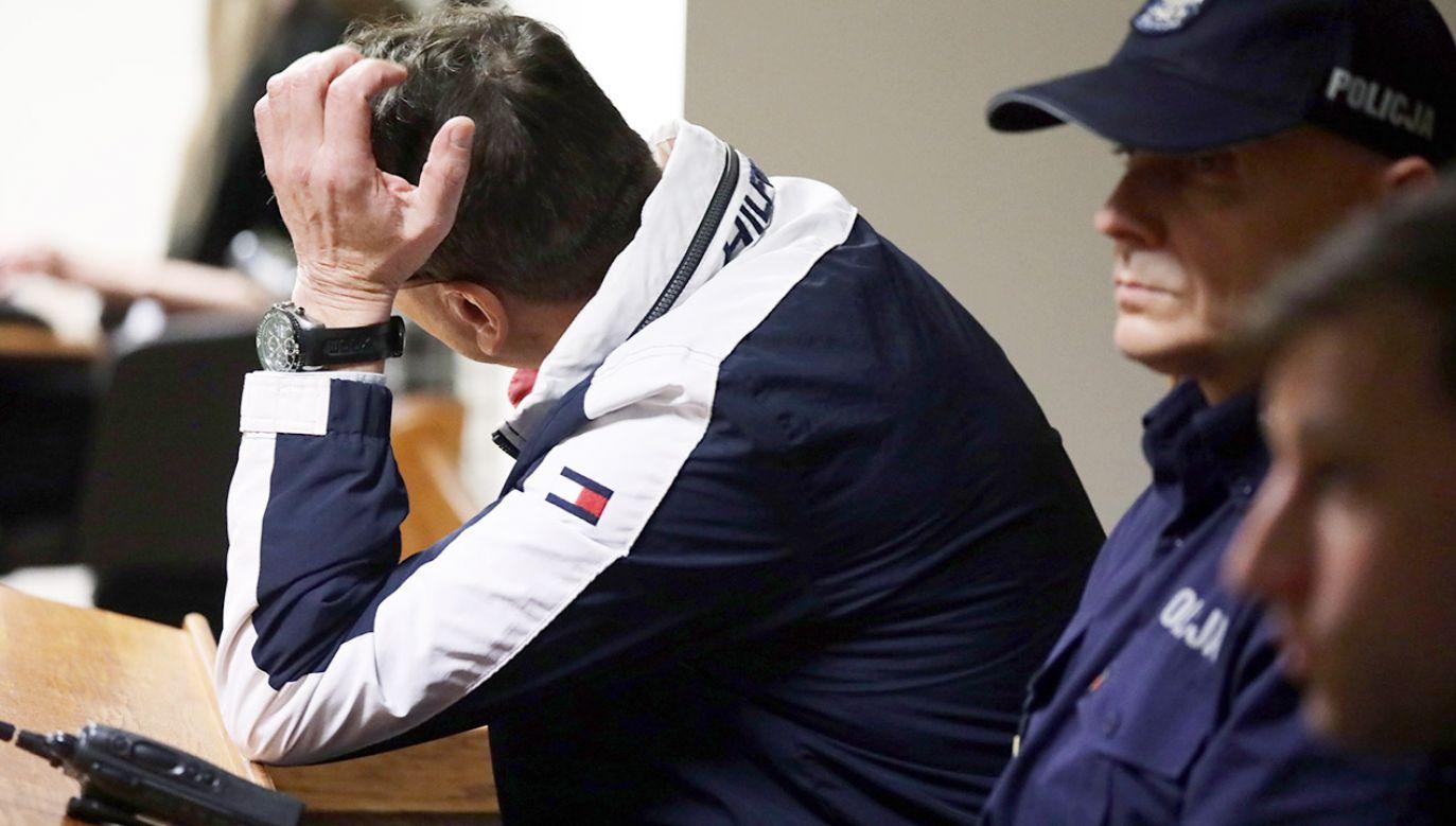 Cezary P., oskarżony o sprzedaż narkotyków celebrytom, nie przyznaje się do winy (fot. arch.PAP/Tomasz Gzell)