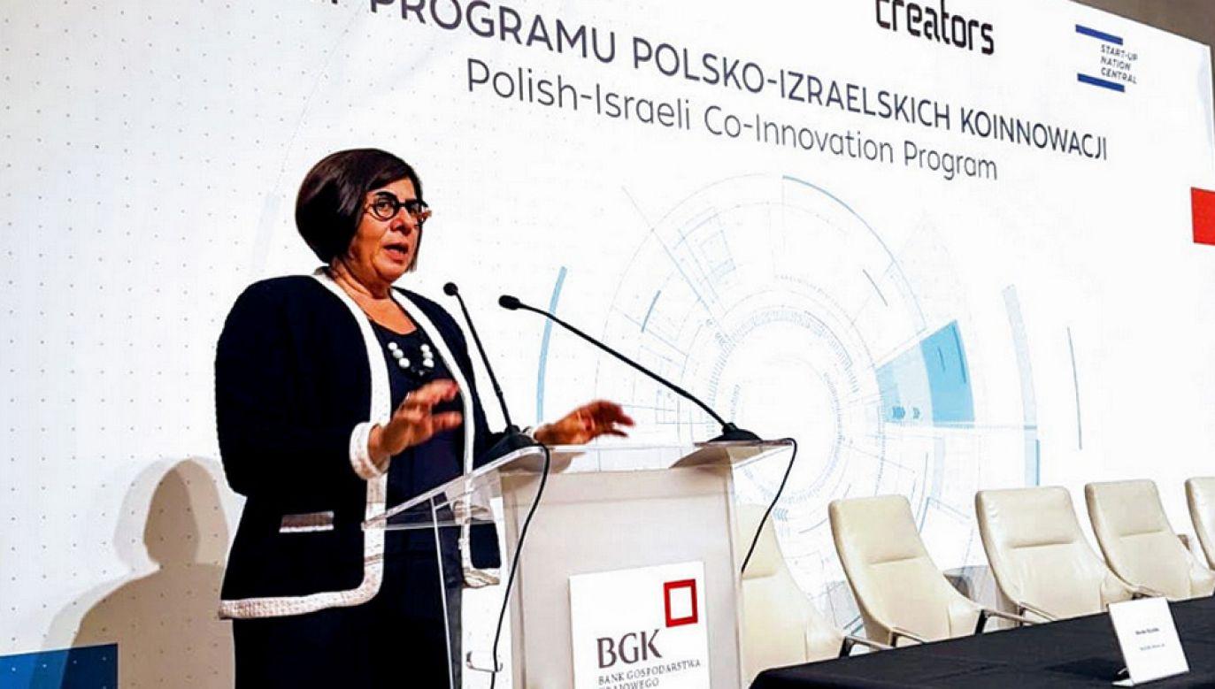 Ambasador Izraela Anna Azari liczy na przyjazd do Polski premiera swojego kraju (fot. TT/IsraelinPoland)