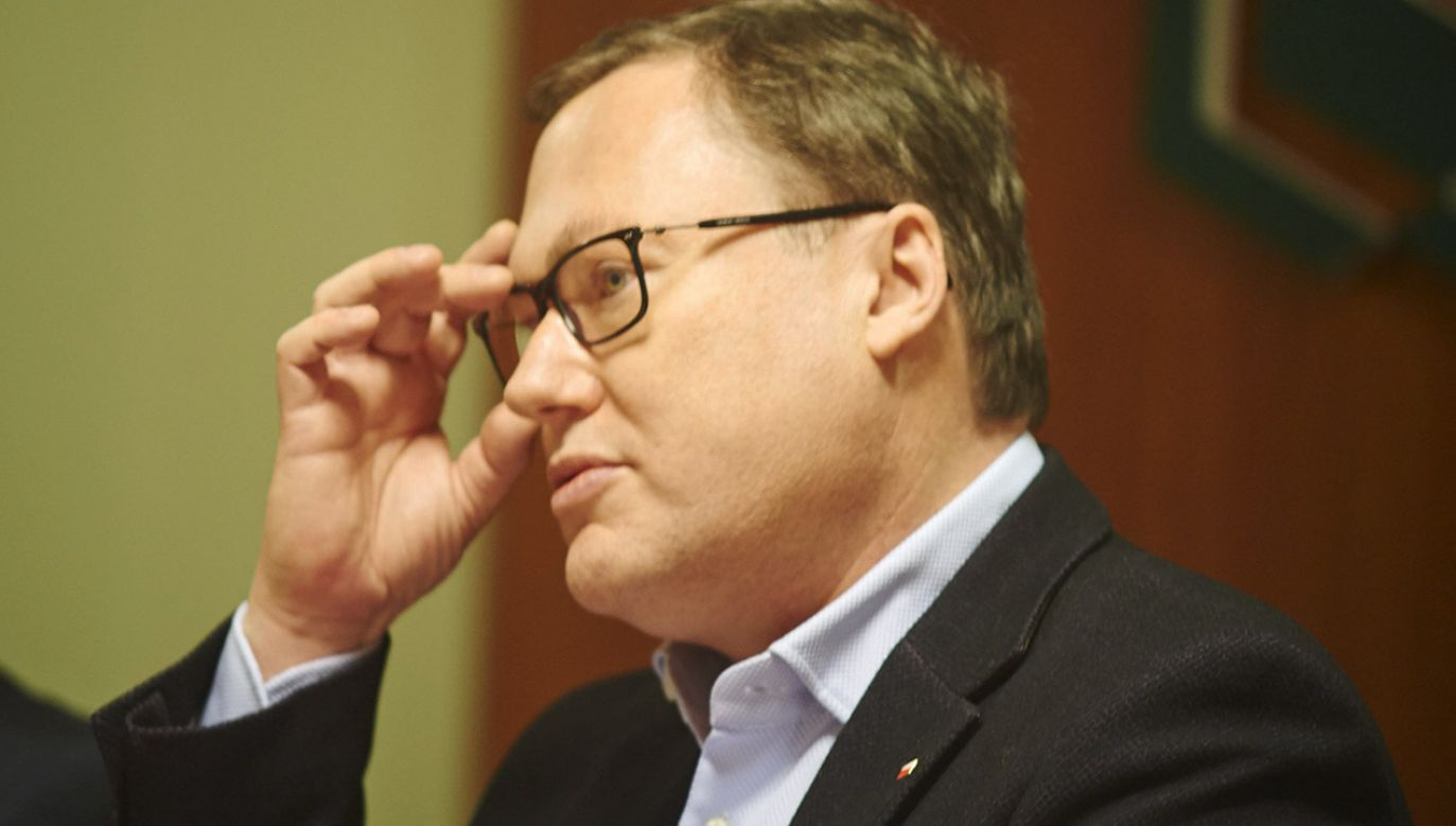 Bierecki domaga się przeprosin i odwołania przez twórcę Getin Banku wszelkich spekulacji wygłaszanych na jego temat w trakcie rozmowy z Markiem Chrzanowskim (fot. arch.PAP/Dominik Kulaszewicz)