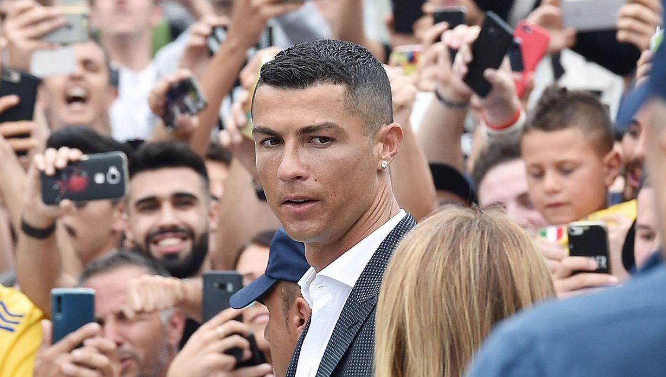 Cristiano Ronaldo (fot. PAP/EPA/ALESSANDRO DI MARCO)
