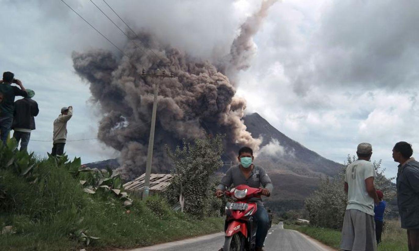 (fot. REUTERS/Antara Foto/Irsan Mulyadi)