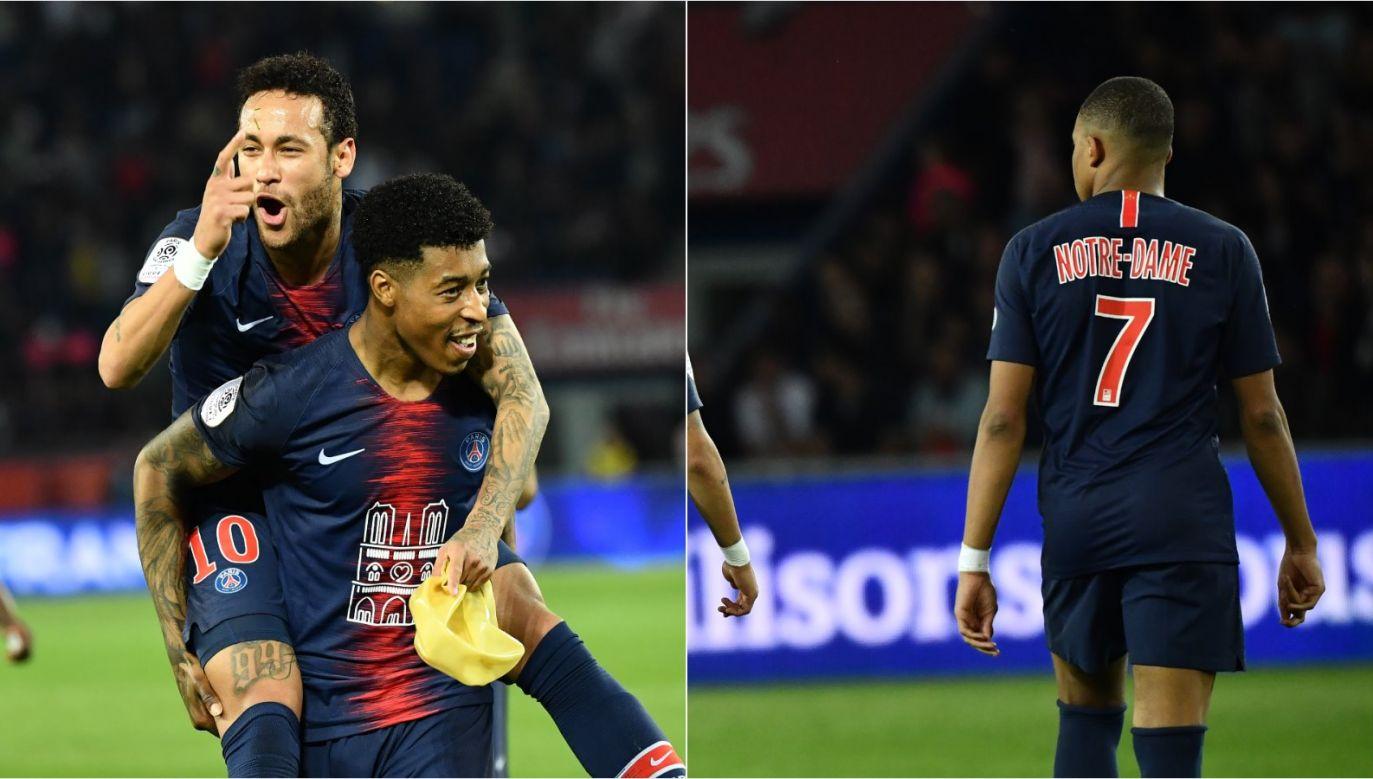 Neymar i Kylian Mbappe (fot. Getty Images)