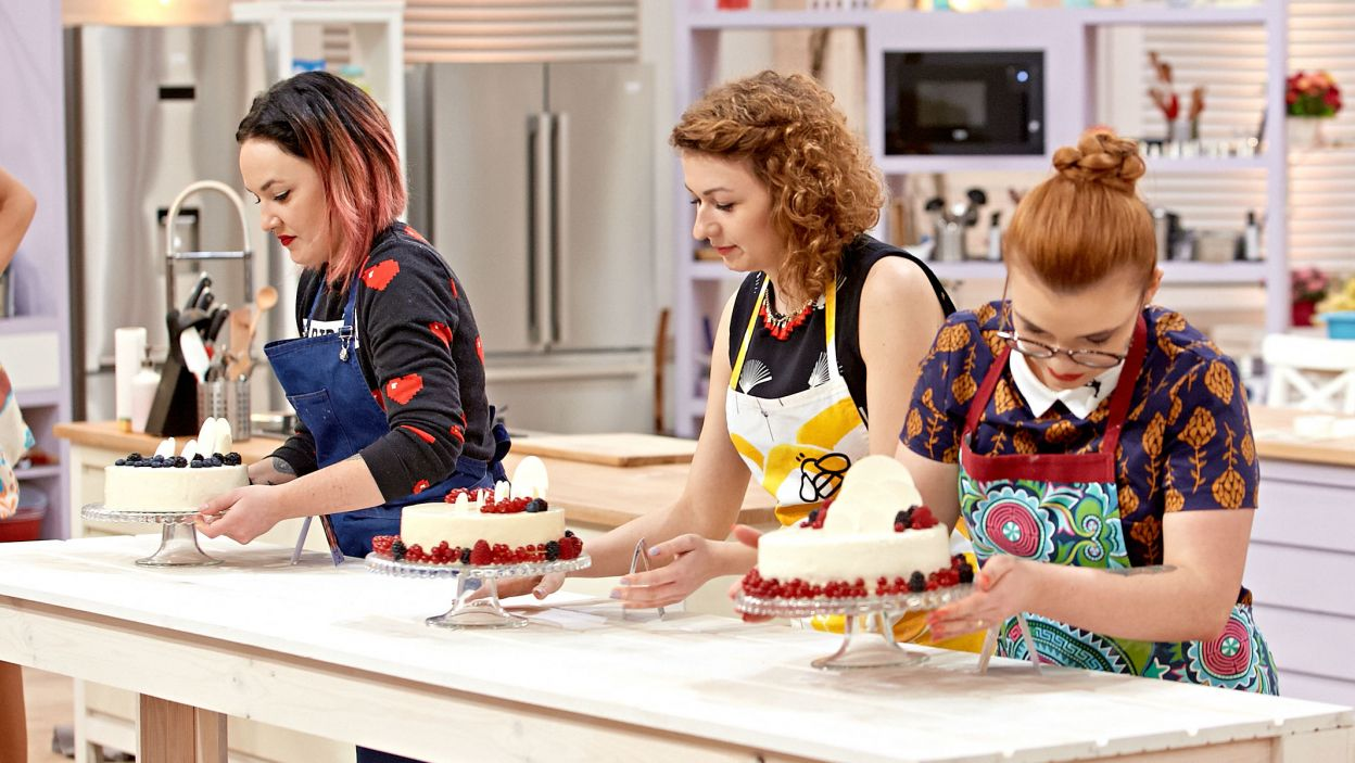 Torty prezentują się smakowicie! Ale czy ich autorki są zadowolone ze swojej pracy? (fot. TVP)