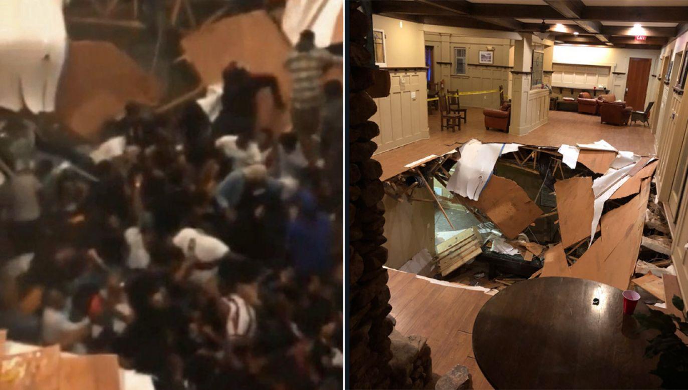 Do szpitala trafiły 23 osoby (fot. TT/DanaGriffinWYFF/Mega_News24)